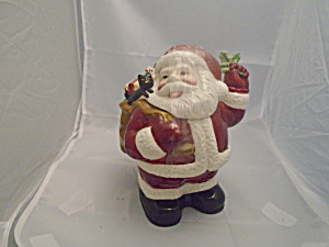 American Atelier Santa 5052 Small Ceramic Cookie Jar