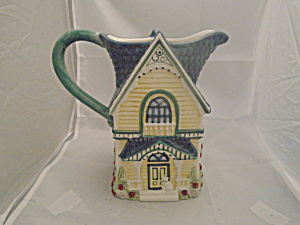 Cracker Barrel House Approx. 2 Quart Serving Pitcher Mint