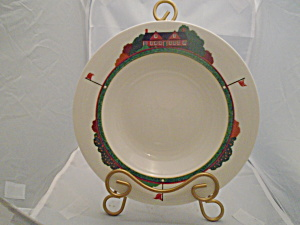 Christopher Stuart Fairway Rimmed Soup Bowls