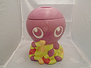 Home Octopus Ceramic Cookie Jar