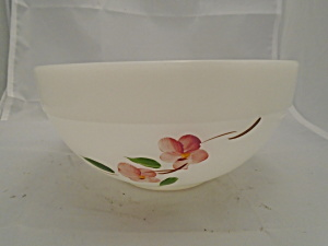 Fire King Peach Blossom Mixing Bowl 7 3/8 In.