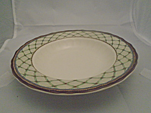 Mikasa Country Lattice Rimmed Soup Bowl(S)
