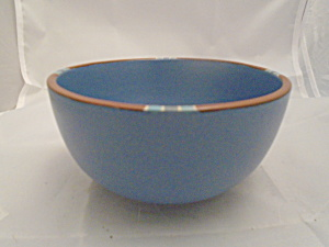 Dansk Mesa Blue Small Mixing Bowl Made In Portugal