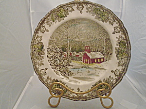 Johnson Bros Friendly Village Dinner Plates