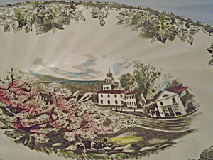 Johnson Bros Friendly Village Oval Serving Bowl