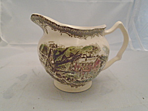 Johnson Bros Friendly Village Creamer