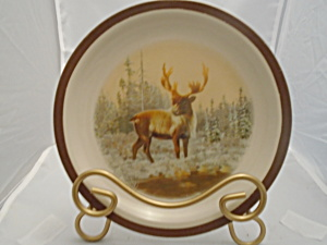 National Wildlife Federation Moose Salad Plate