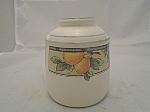 Mikasa Garden Harvest Covered Canister Flour No Seal