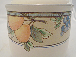 Mikasa Garden Harvest Covered Canister Sugar No Seal