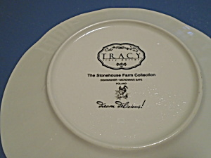 Tracy Porter Rooster Salad Plates