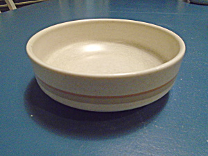 Lenox Temperware Brushwork Beige Cereal Bowls