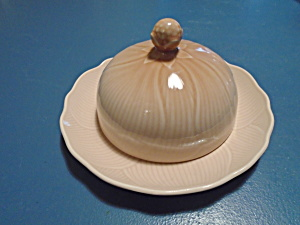 Mikasa Amaryllis Covered Butter Dish