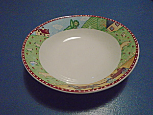 Sango Green Acres Soup/cereal Bowls