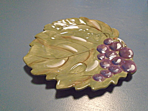 Noble Excellence Meritage Salad Plates Shaped Like A Leaf Neat