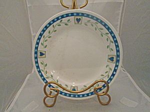 Corelle Blue Hearts and Vines Lunch Plates (Image1)