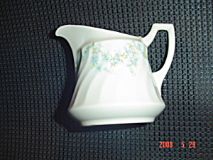 Syracuse Tiny Blue Flowers Creamer - Sy55