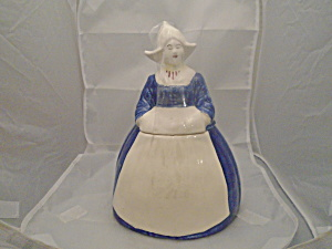 Dutch Girl Cookie Jar Ceramic