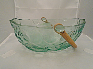 Libbey Orchard Fruit Basket Bowl Neat And Unusual