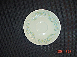 Syracuse Tiny Blue Flowers Saucer Sy55