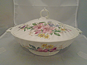 Royal Doulton Arcadia Covered Serving Bowl New W/tags