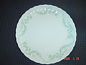 Syracuse Tiny Blue Flowers Dessert Plate Sy55