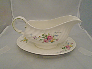 Royal Doulton Arcadia Gravy Boat And Under Plate New