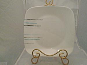 Corelle Square Rain Drops Lunch Plates (Image1)