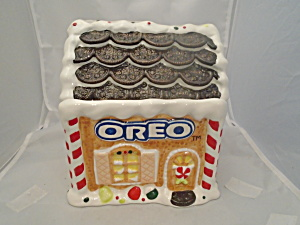 Oreo Cookie Jar Fifth in Series 2001 MINT (Image1)