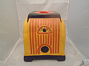 Gaggle Radio Ceramic Cookie Jar