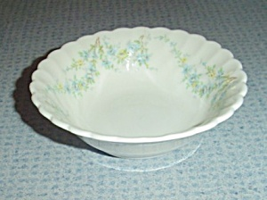Syracuse Tiny Blue Flowers Dessert Bowls Sy55