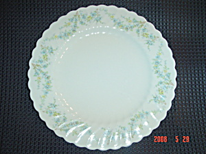 Syracuse Tiny Blue Flowers Damaged Plates Sy55