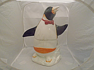 Epoch Penguin Large Cookie Jar