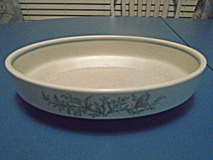 Lenox Temperware Oval Serving Bowl Fancy Free