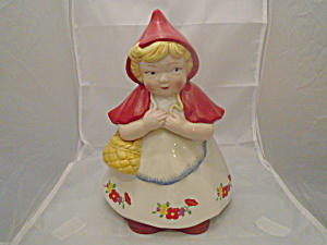 Dept. 56 Little Red Riding Hood Cookie Jar
