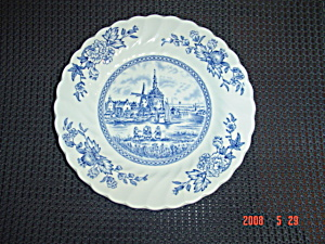 Johnson Bros. Tulip Time Bread And Butter Plates