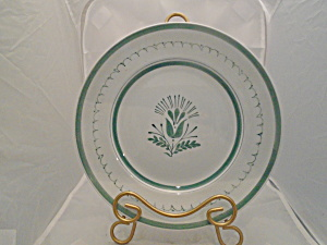 Arabia Green Thistle Finland Dinner Plate(S)