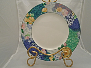 Christopher Stuart French Brocade Salad/lunch Plates