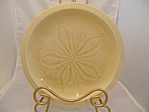 Franciscan Sea Sculptures The Sand Dollar Dinner Plates