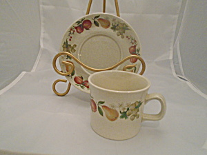 Vintage Wedgwood Quince Cups/saucer(S) Mint 1969-1986