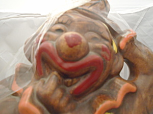 California Originals Vintage Big Dumb Clown Cookie Jar