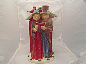 Carolers Cookie Jar
