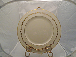 Lenox Gold Wreath 6.25 In. Bread And Better Plate(S) Mint