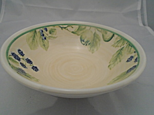 Nikko Country Side Blueberry Market Cereal Bowl(S)