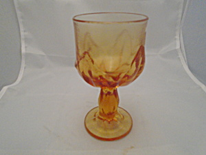 Franciscan Persimmon Cabaret Water Goblets