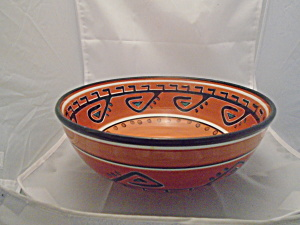 Tabletops Hopi Large Serving Bowl 11 In. Diameter