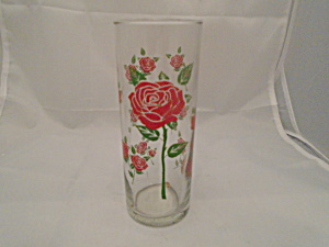 Anchor Red Roses Glasses/tumblers New W/stickers Set Of 8