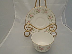 Minton Spring Bouquet Cups And Saucers