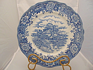 Salem China Co. English Village Dinner Plate(S)