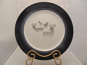 Cabela's Morning Mist Elk Salad Plate(S) Beautiful Design