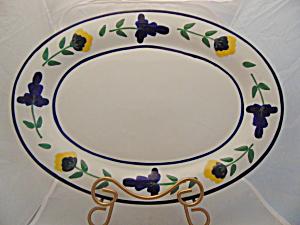 Dansk San Nicolo 15.5 in. Oval Platter  (Image1)
